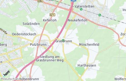 Stadtplan Grasbrunn