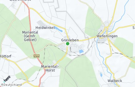 Stadtplan Grasleben