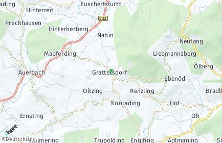Stadtplan Grattersdorf