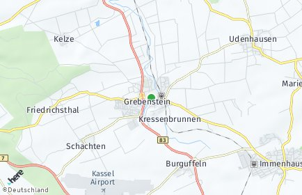 Stadtplan Grebenstein