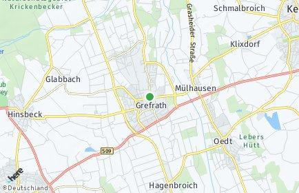 Stadtplan Grefrath