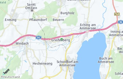 Stadtplan Greifenberg