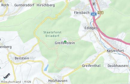 Stadtplan Greifenstein