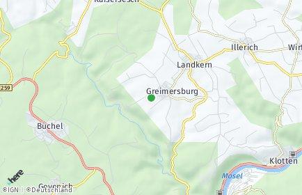 Stadtplan Greimersburg