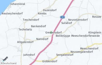 Stadtplan Gremersdorf