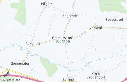 Stadtplan Gremersdorf-Buchholz