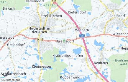 Stadtplan Gremsdorf