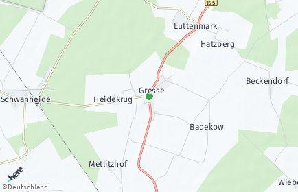 Stadtplan Gresse
