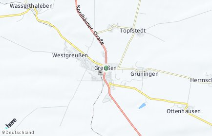 Stadtplan Großenehrich