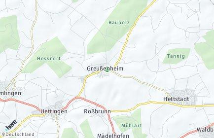 Stadtplan Greußenheim
