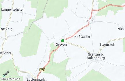 Stadtplan Greven (Mecklenburg)