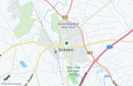 Stadtplan Greven
