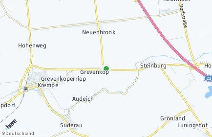 Stadtplan Grevenkop