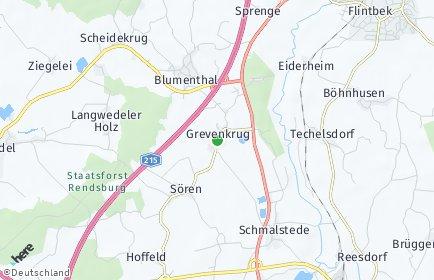 Stadtplan Grevenkrug