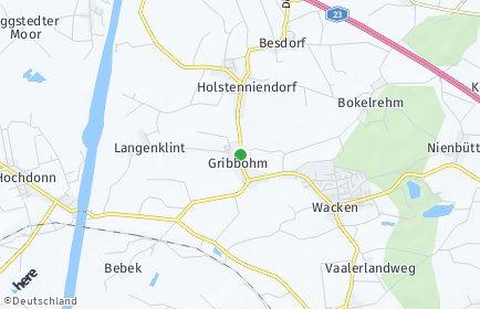 Stadtplan Gribbohm