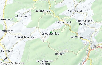 Stadtplan Griebelschied