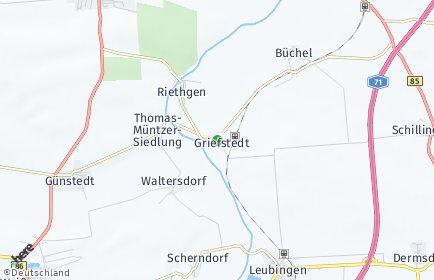 Stadtplan Griefstedt