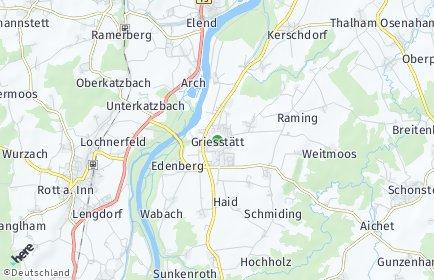 Stadtplan Griesstätt