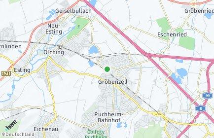 Stadtplan Gröbenzell
