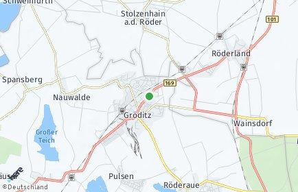 Stadtplan Gröditz