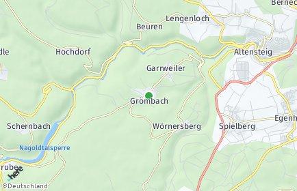 Stadtplan Grömbach