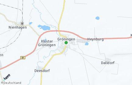 Stadtplan Gröningen