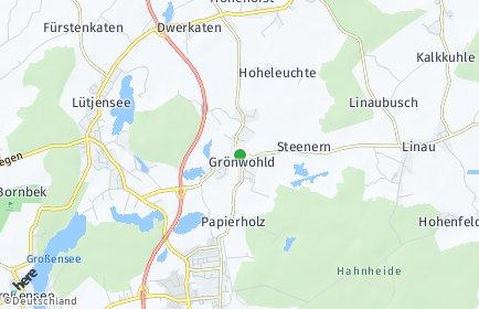 Stadtplan Grönwohld