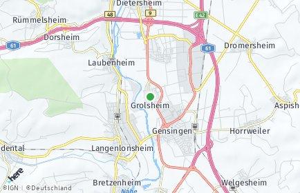Stadtplan Grolsheim