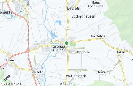 Stadtplan Gronau (Leine)