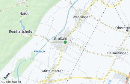 Stadtplan Großaitingen