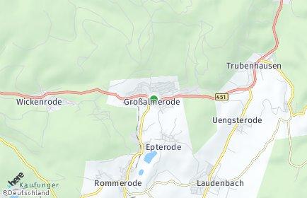Stadtplan Großalmerode