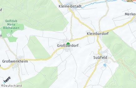 Stadtplan Großbardorf