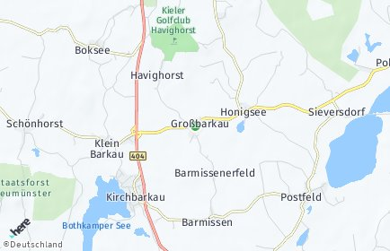Stadtplan Großbarkau