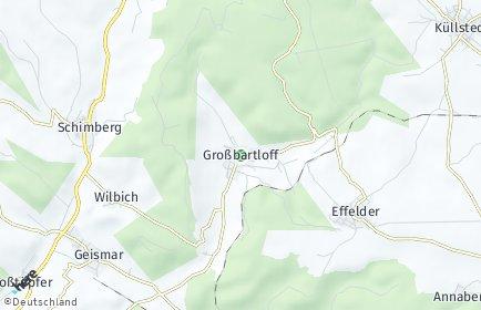 Stadtplan Großbartloff