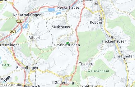Stadtplan Großbettlingen