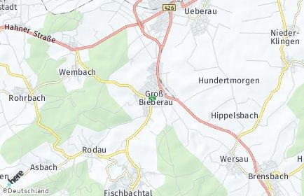 Stadtplan Groß-Bieberau