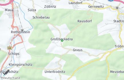Stadtplan Großbockedra
