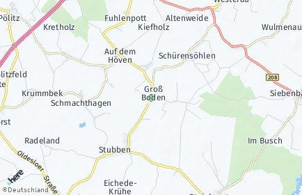 Stadtplan Groß Boden