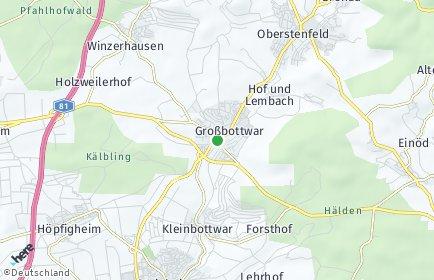 Stadtplan Großbottwar