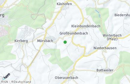 Stadtplan Großbundenbach