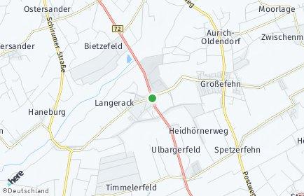 Stadtplan Großefehn