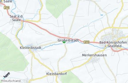 Stadtplan Großeibstadt