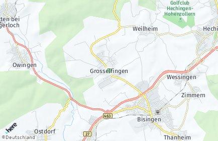 Stadtplan Grosselfingen