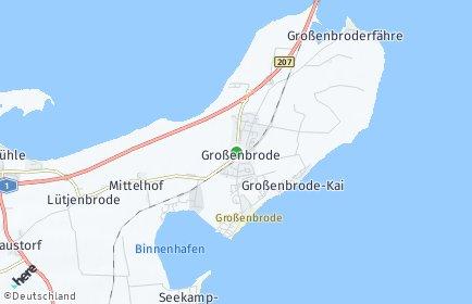 Stadtplan Großenbrode