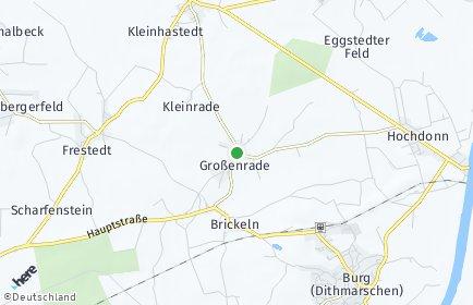 Stadtplan Großenrade