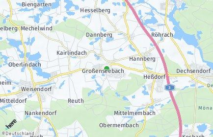 Stadtplan Großenseebach