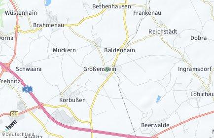 Stadtplan Großenstein