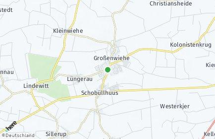 Stadtplan Großenwiehe