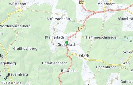 Stadtplan Großerlach