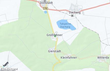 Stadtplan Großfahner